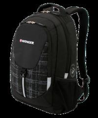 Рюкзак WENGER, цвет чёрный/серый (3126200408)
