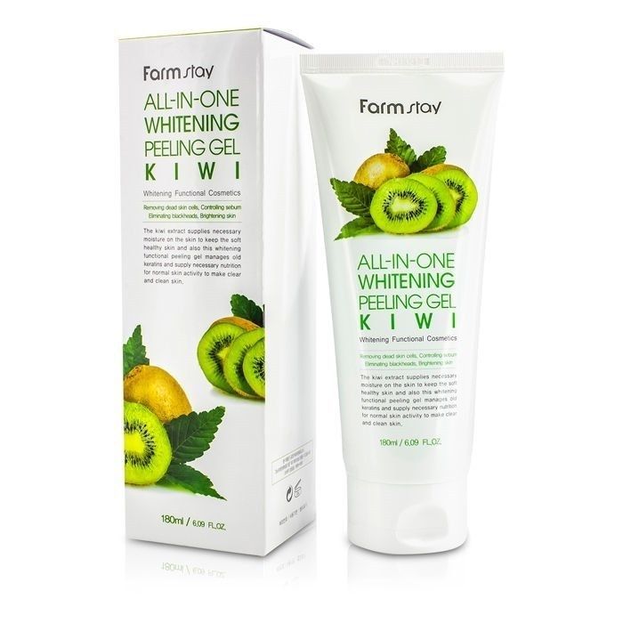 FarmStay All-In-One Whitening Peeling Gel Kiwi Пилинг гель