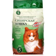 Сибирская кошка Флора древесные гранулы