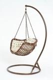 Подвесное кресло-качели Vinotti Makadamia Brown
