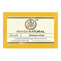 Мыло Khadi Natural 34720.2 (Lemon)