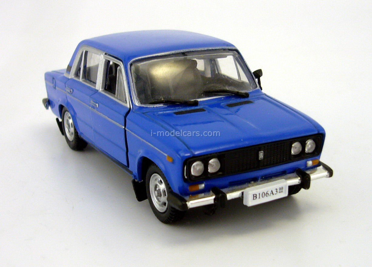 VAZ-2106 Lada blue Autobahn 1:43