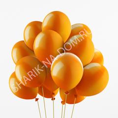 Оранжевые воздушные шары