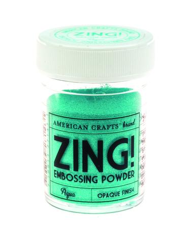 Пудра для эмбоссинга ZING! Aqua
