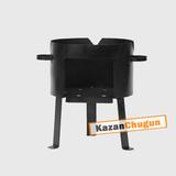 Печь под казан 40 литров(сталь 2 мм)