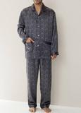Шелковая мужская пижама класса люкс Zimmerli