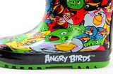 Резиновые сапоги для мальчиков утепленные Энгри Бердс (Angry Birds), цвет черный. Изображение 9 из 11.