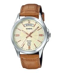 Мужские японские наручные часы CASIO MTP-1381L-9ADF