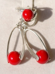 Румба(кольцо + серьги из серебра)