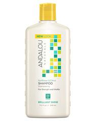 """Шампунь для блеска волос """"Подсолнечник и цитрус"""", Andalou Naturals"""