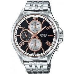 Мужские японские наручные часы CASIO MTP-E316D-1AVDF