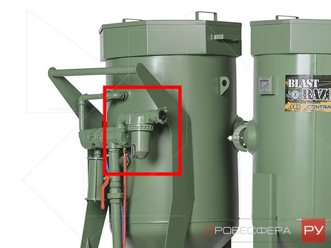 Ремкомплект для фильтра пескоструйного аппарата CAF-2-3