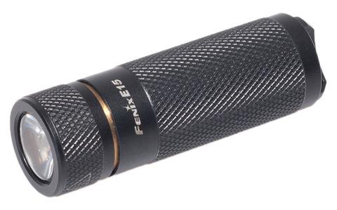 Купить Мощный яркий фонарь-брелок Fenix E15 170 люмен (34295) по доступной цене