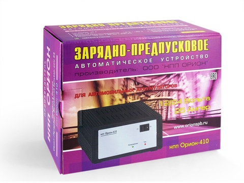 Зарядное устройство НПП ОРИОН-410 (12-24В, 25A)