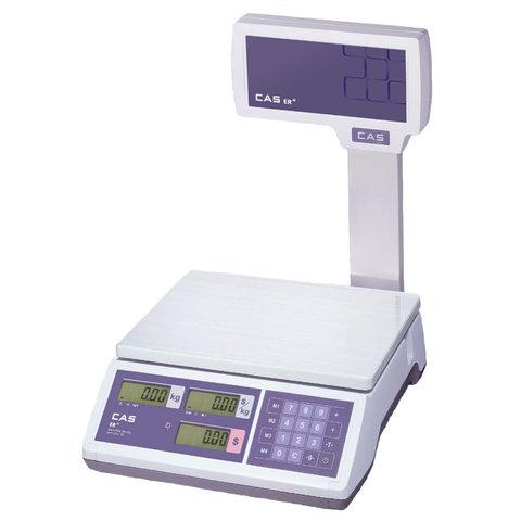 Весы торговые CAS ER JR-30CBU
