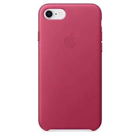 Чехол iPhone 7/8 Leather Case /pink fuchsia/
