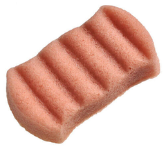 Спонж Конняку для тела с розовой глиной