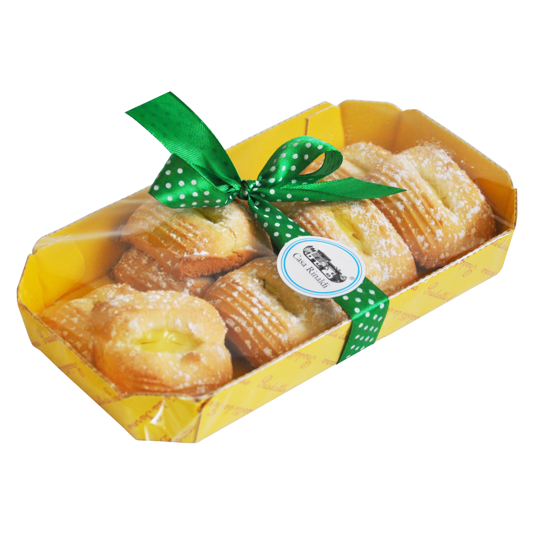 Печенье Кучини с лимонным джемом
