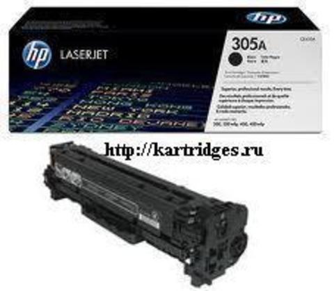 Картридж Hewlett-Packard (HP) CE410A №305A