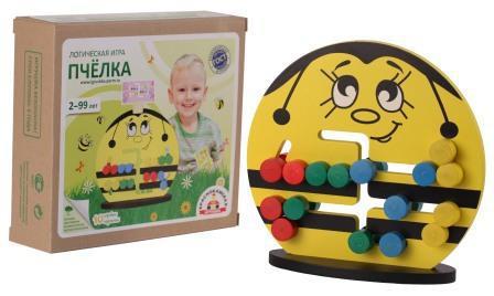 Детские логические игры - Пчелка