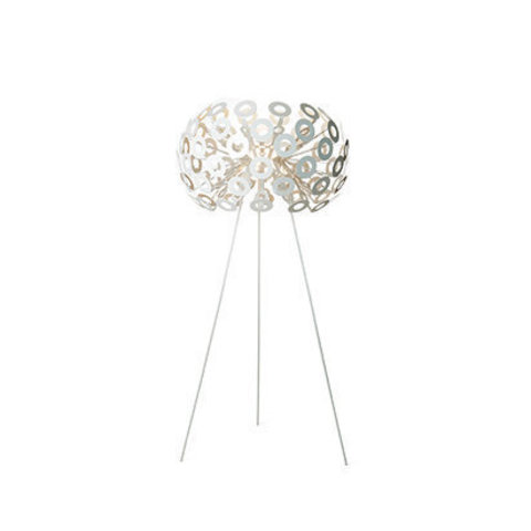 replica Dandelion floor lamp silver