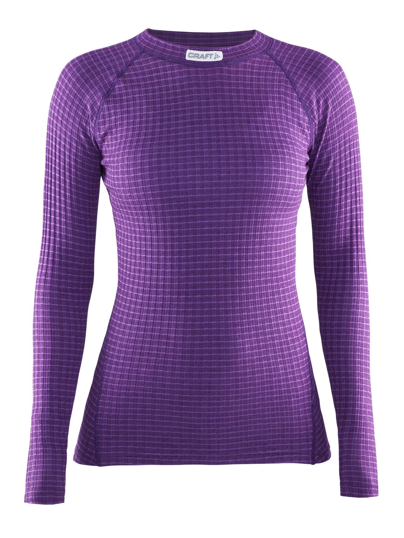 Женское термобелье рубашка Craft Warm Wool фиолетовая (1903724-2495)