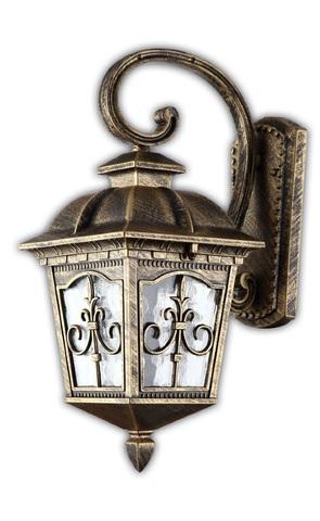Светильник садово-парковый, 60W 220V E27 черное золото , IP44 , PL4092 (Feron)