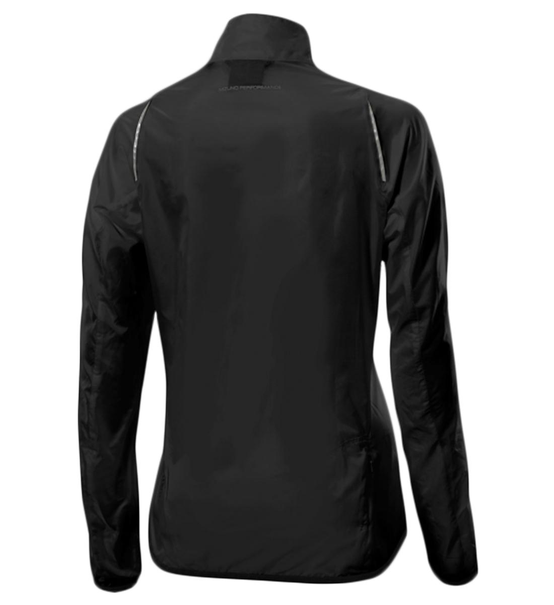 Женская ветрозащитная куртка Mizuno Impermalite (J2GC4201 09) фото