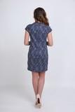 Платье 06119 синий