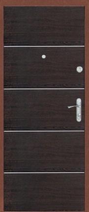 Входная дверь Витязь, Добрыня , Медь / Венге
