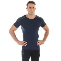 Мужская спортивная футболка Brubeck Impuls (брубек) графит фото