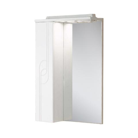Зеркало шкаф Акватон - ПАНДА 50 левое 1A007402PD01L