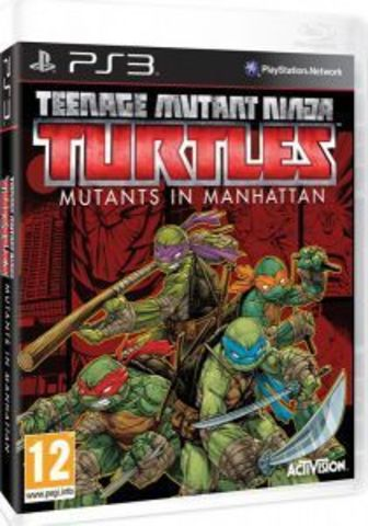 PS3 Teenage Mutant Ninja Turtles: Mutants in Manhattan (английская версия)