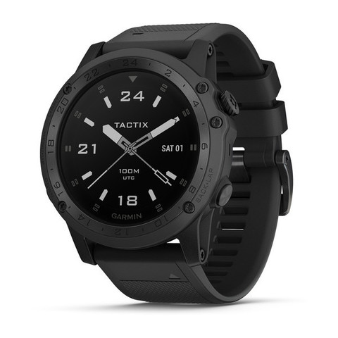 Купить Военно-тактические смарт часы Garmin Tactix Charlie 010-02085-00 (силикон) по доступной цене