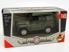 UAZ-Hunter 4x4 2004 green Bauer Autobahn Cararama 1:43 used