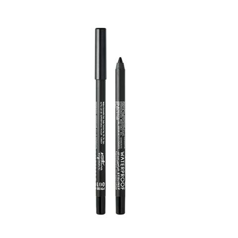 TopFace Карандаш для глаз водостойкий  Velvet Smokey Eyes тон 03, черный - РТ605
