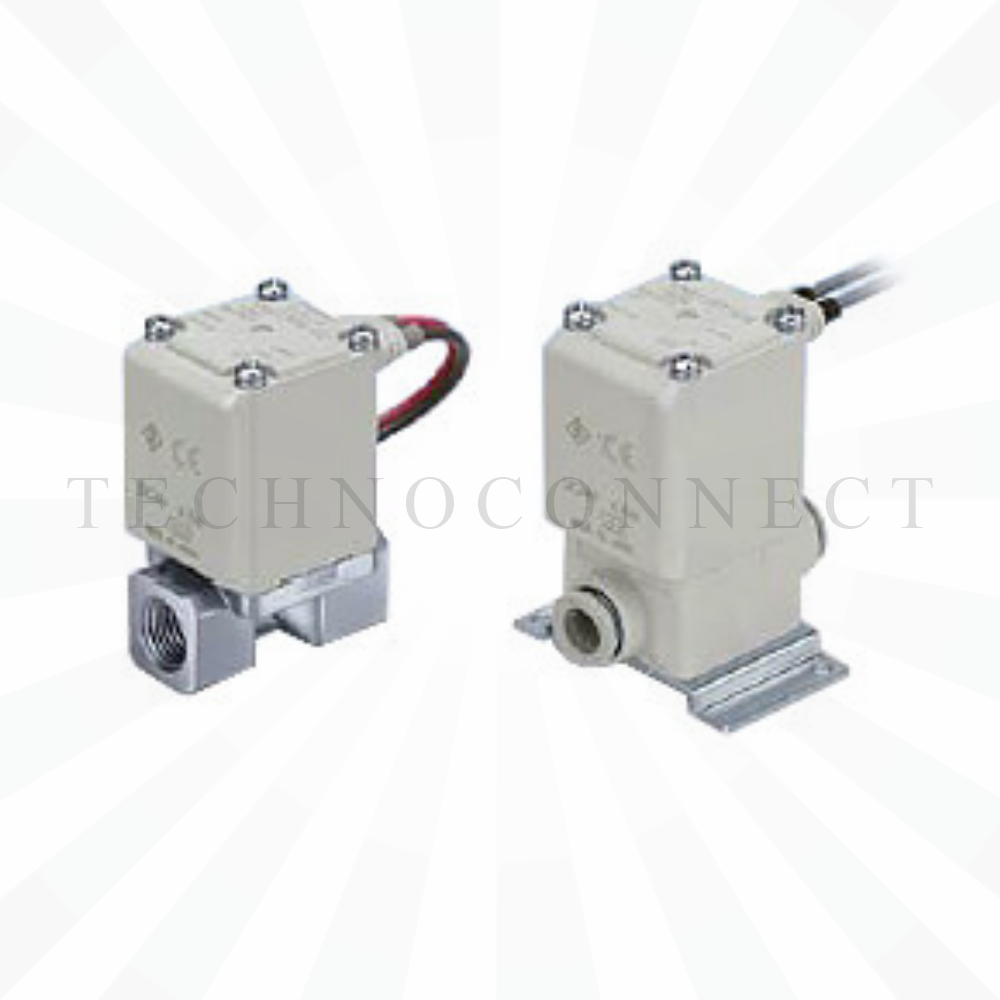 VX210JG   2/2 Клапан Н.З., на воздух, б/р 6, 24VDC, пластик