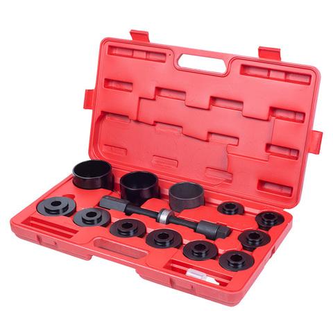 МАСТАК (100-30014C) Набор оправок для монтажа и демонтажа ступичных подшипников, кейс, 14 предметов