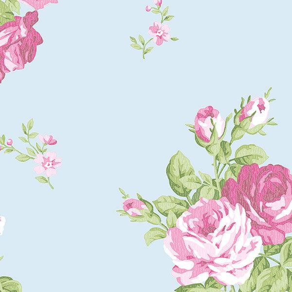 Обои Aura English Florals G34314, интернет магазин Волео