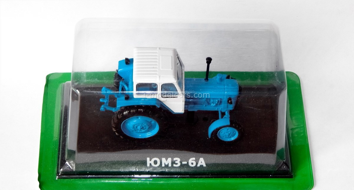 Tractor UMZ-6A 1:43 Hachette #37