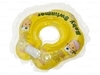 Baby-Krug. Детский круг для купания на шею, 0-24 мес. желтый (полуцвет)