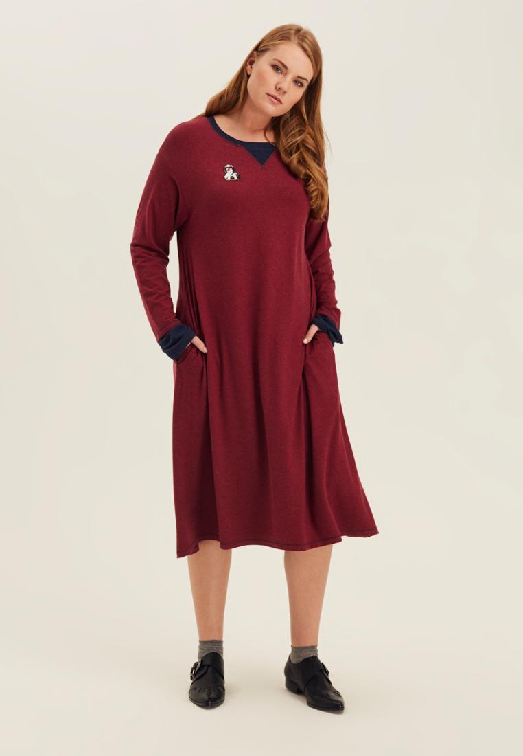 Платье с двойным рукавом LM-04 D01 21