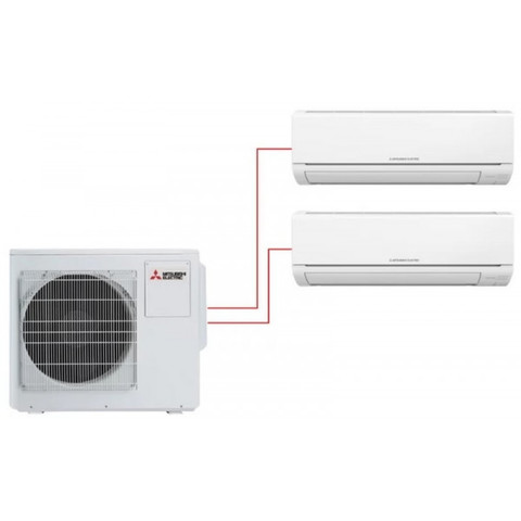 Мульти-сплит система MITSUBISHI ELECTRIC MSZ-DM25VA×2 / MXZ-2DM40VA