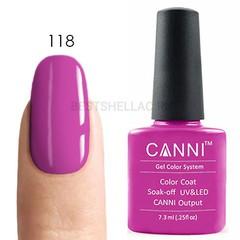 Canni, Гель-лак 118, 7,3 мл