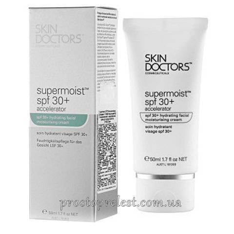 Skin Doctors Supermoist SPF 30+ Accelerator - Увлажняющий и солнцезащитный крем