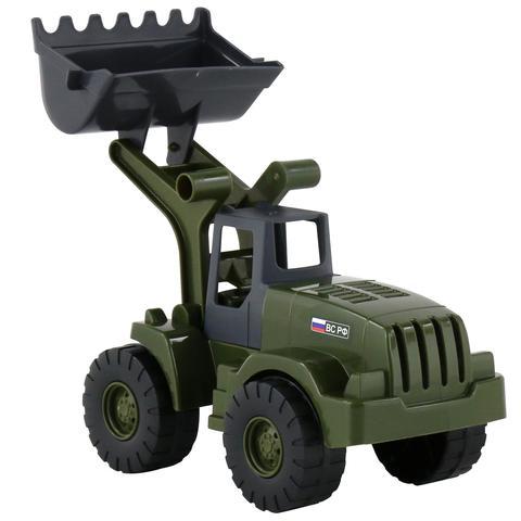 Трактор-погрузчик военный