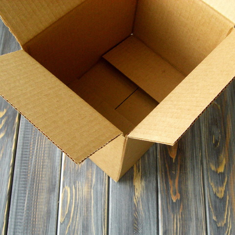 Коробка гофро 4-х клапанная (200*200*200мм)