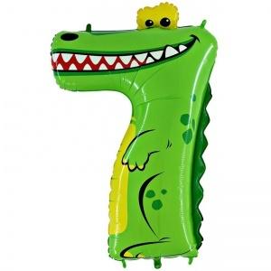 Шары цифры Фольгированная цифра  7 крокодил shop_items_catalog_image3444.jpg
