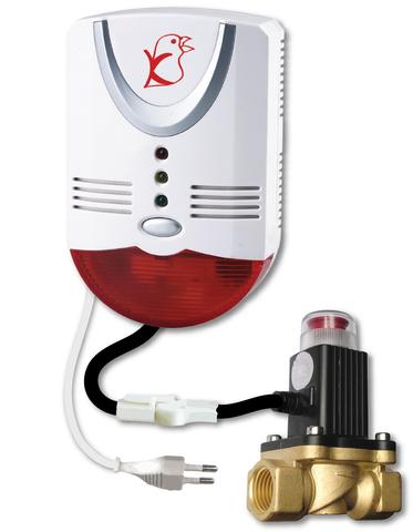 """Электромагнитный клапан отсекатель GV-90 Метан СН4 3/4"""""""