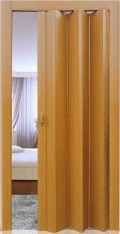 Дверь  Фаворит, цвет миланский орех, глухая